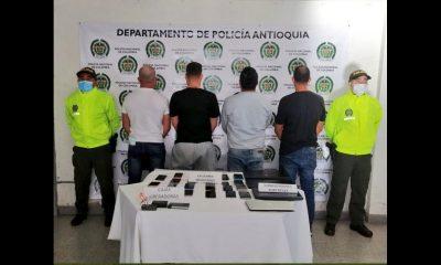 ¡Qué joyitas! Los cogieron por vender celulares robados en Rionegro
