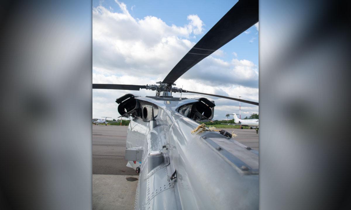 Se ven los disparos Asi quedo el helicoptero presidencial tras ataque a Duque 4