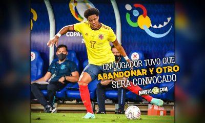 Seleccion Colombia anuncia movimientos en el grupo que participa en la Copa America