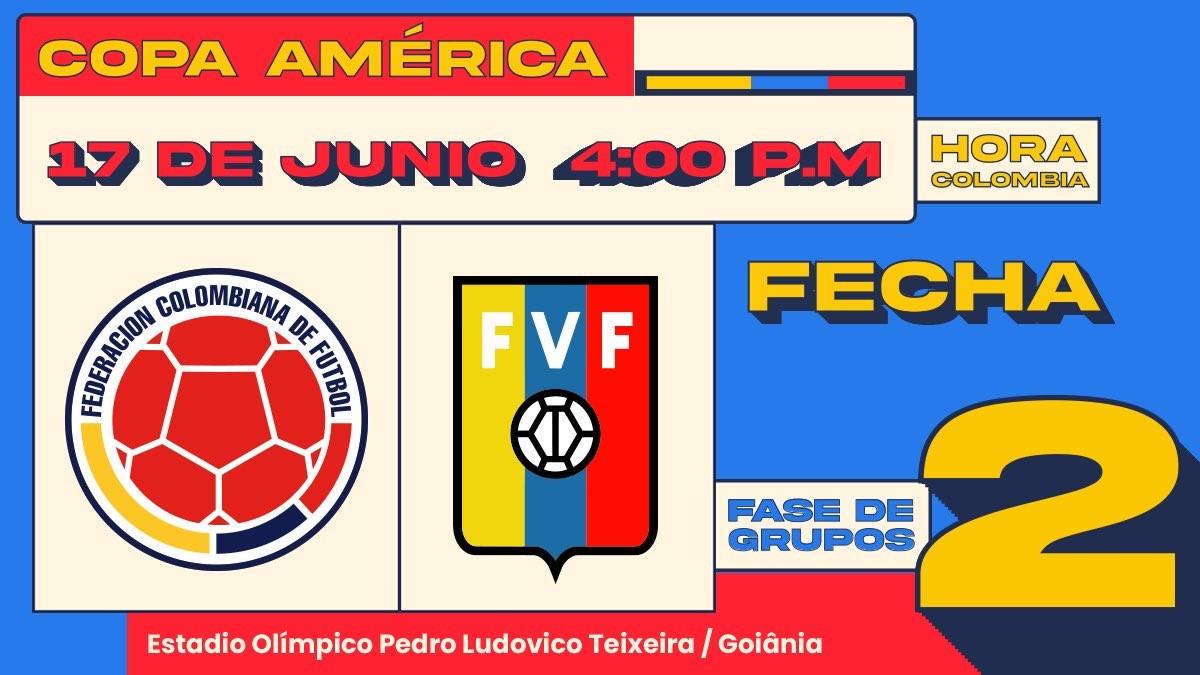 Seleccion Colombia de la Copa America 1