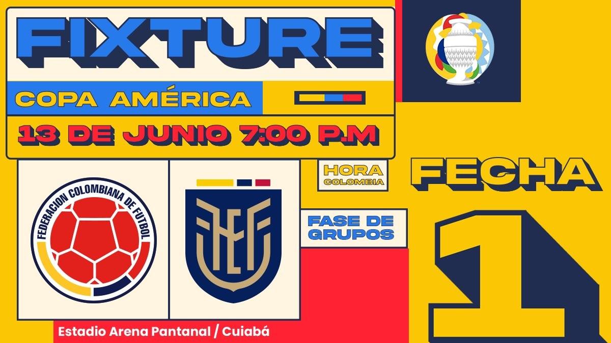 Seleccion Colombia de la Copa America 2