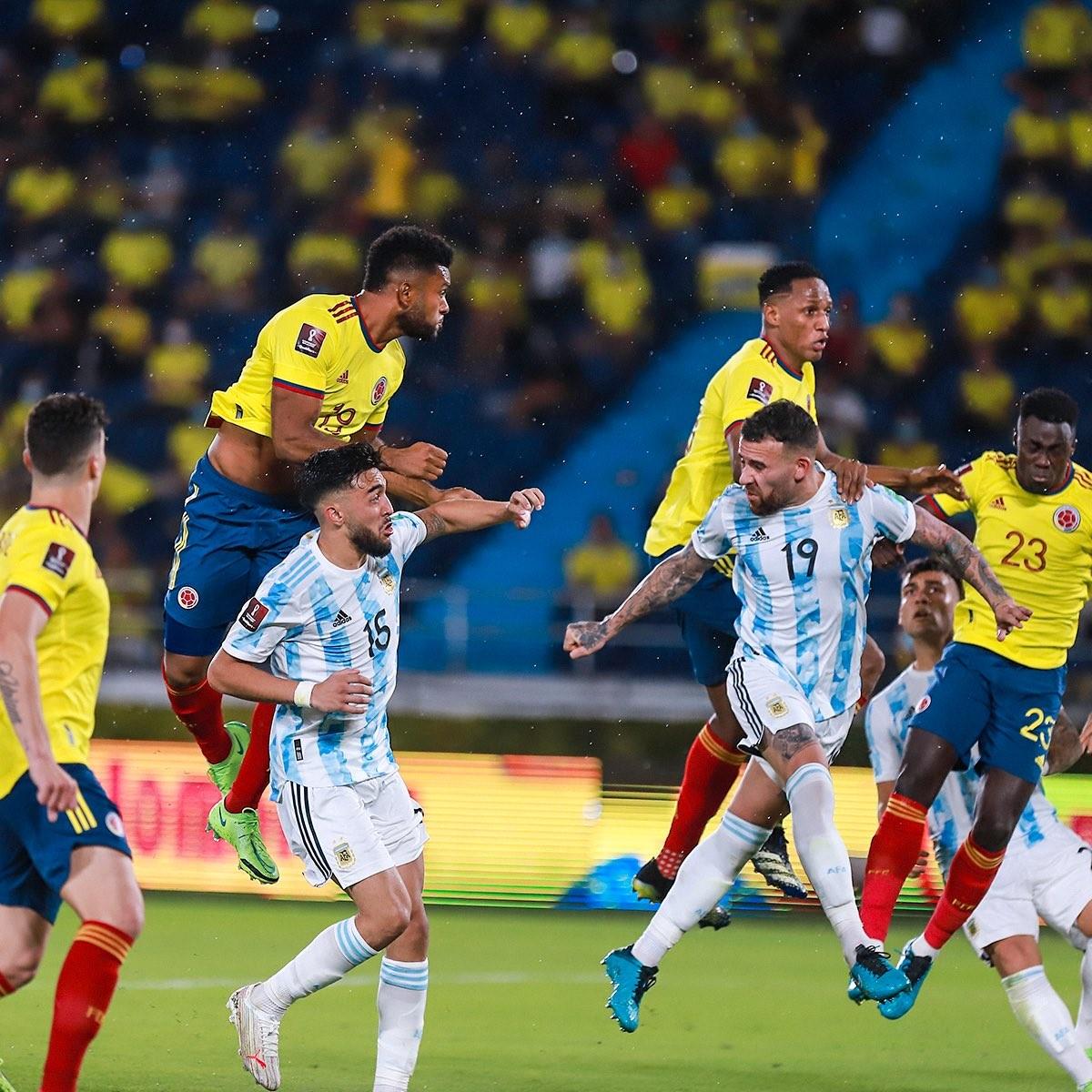 Seleccion Colombia vs Argentina Eliminatorias Sudamericanas 1