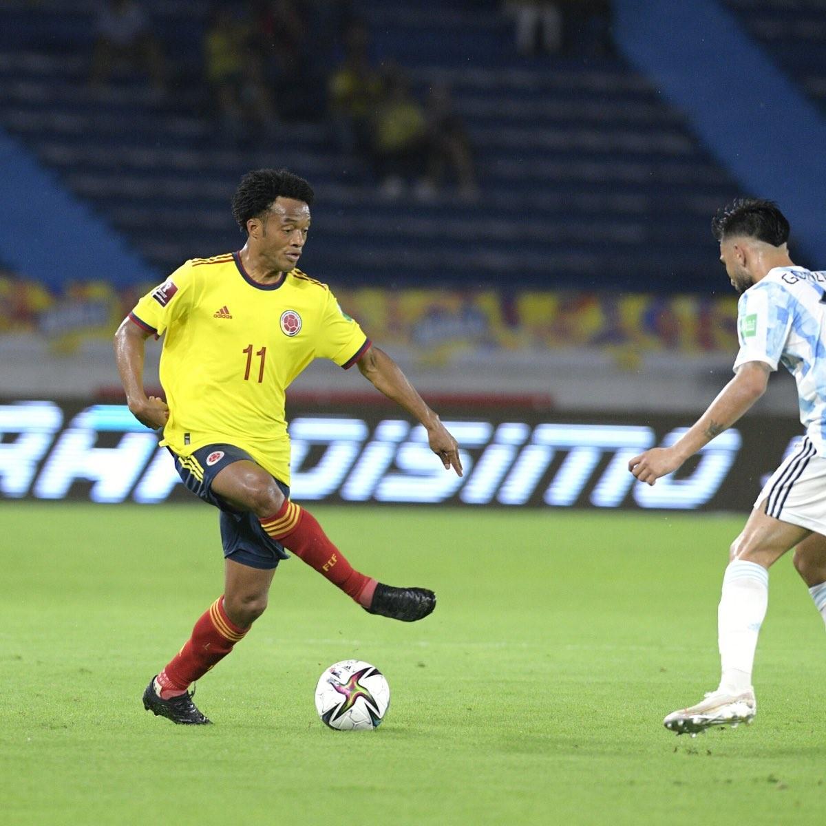 Seleccion Colombia vs Argentina Eliminatorias Sudamericanas 3