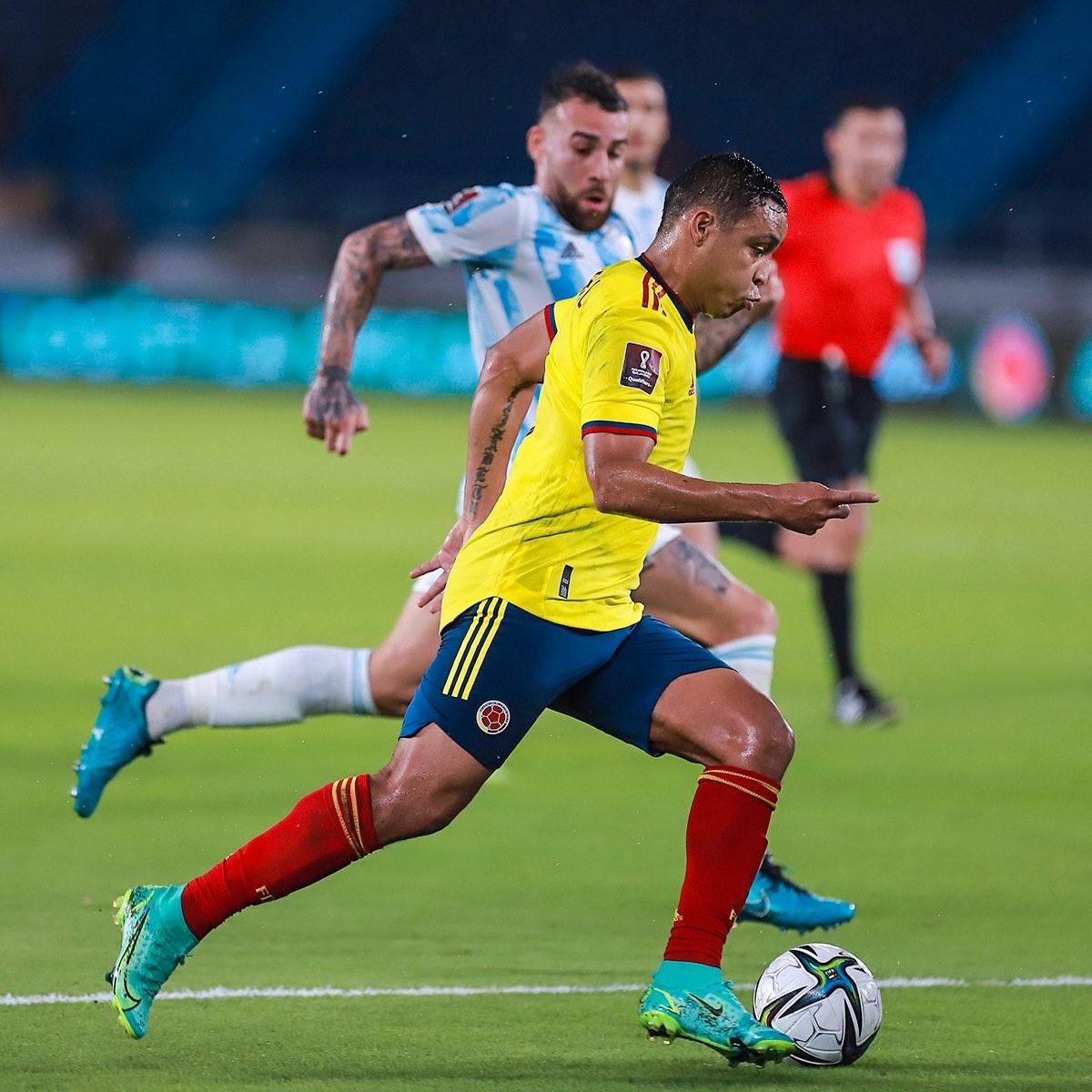 Seleccion Colombia vs Argentina Eliminatorias Sudamericanas 7