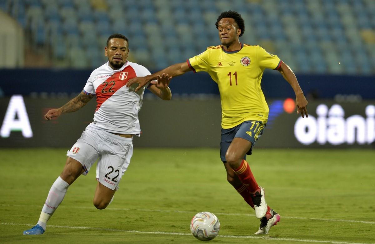 Seleccion Colombia vs Peru en la Copa America 3