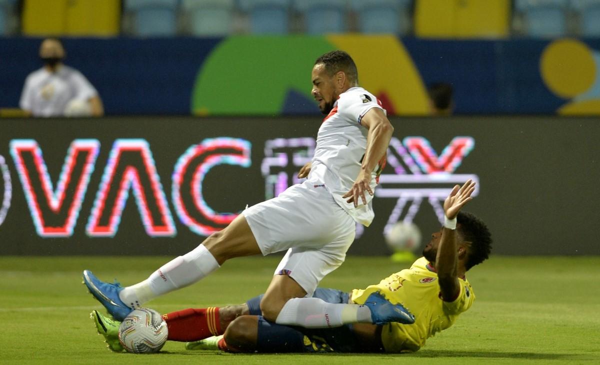 Seleccion Colombia vs Peru en la Copa America 5