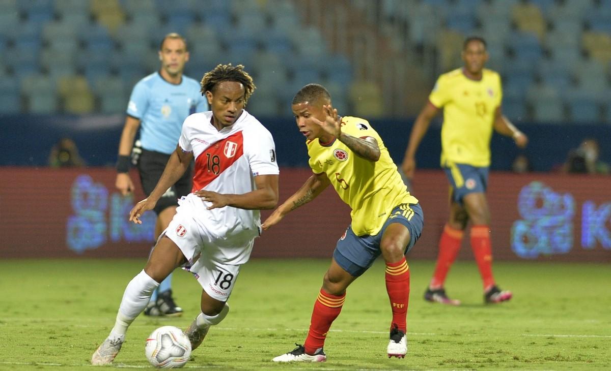 Seleccion Colombia vs Peru en la Copa America 6