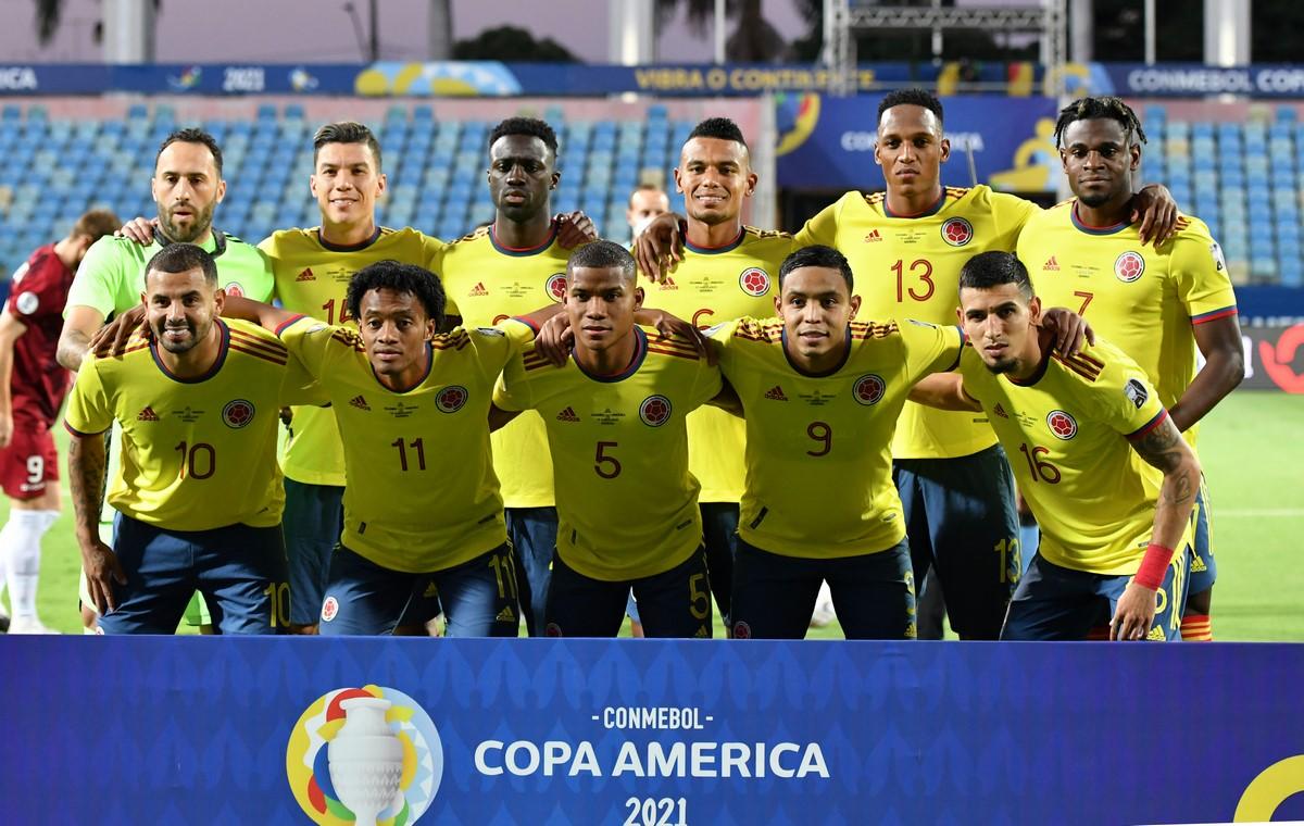Seleccion Colombia vs Venezuela en la Copa America 1