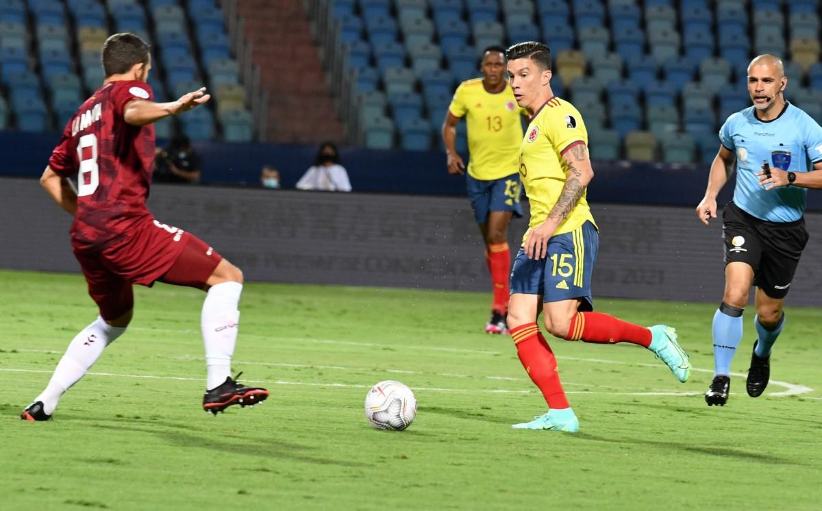 Seleccion Colombia vs Venezuela en la Copa America 2