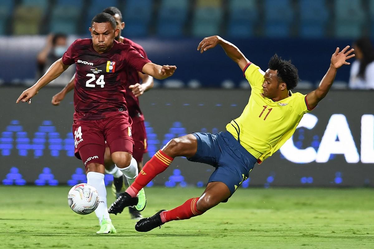 Seleccion Colombia vs Venezuela en la Copa America 5