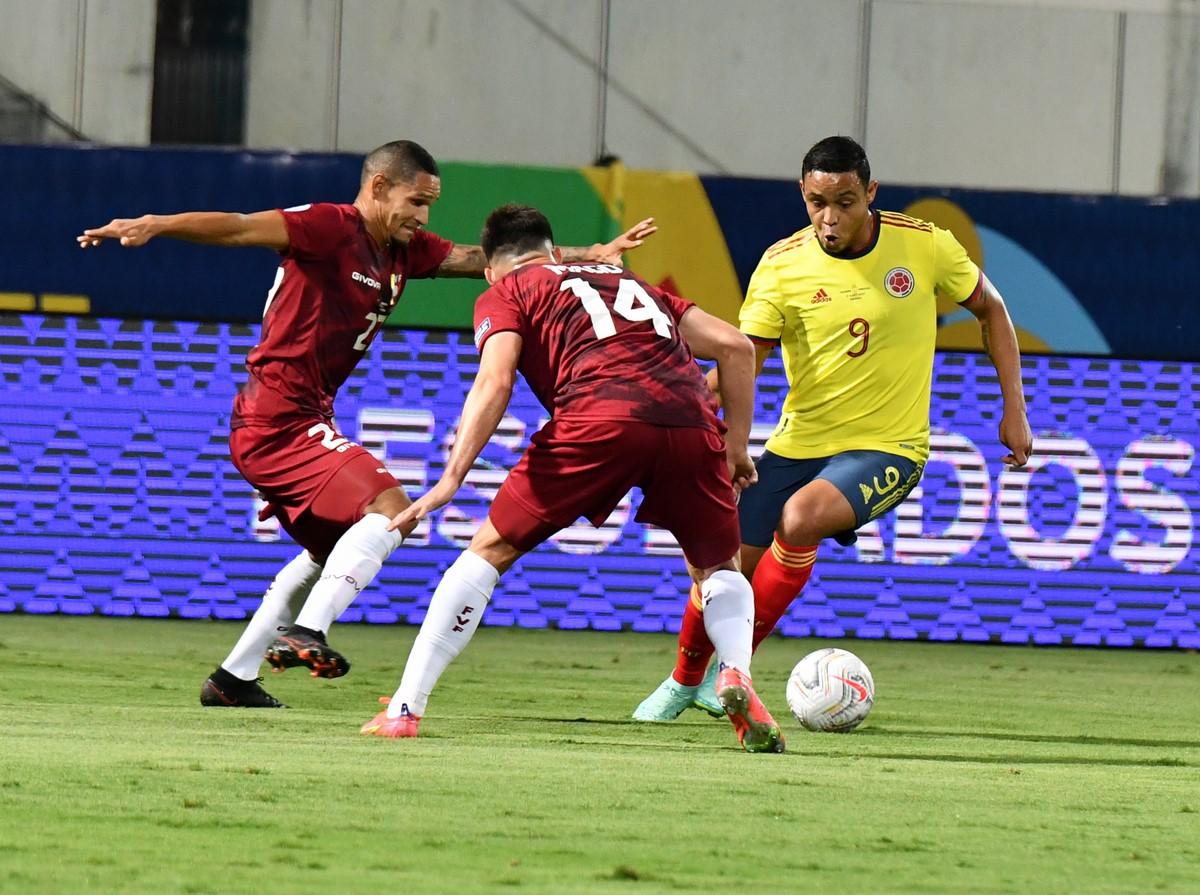 Seleccion Colombia vs Venezuela en la Copa America 6