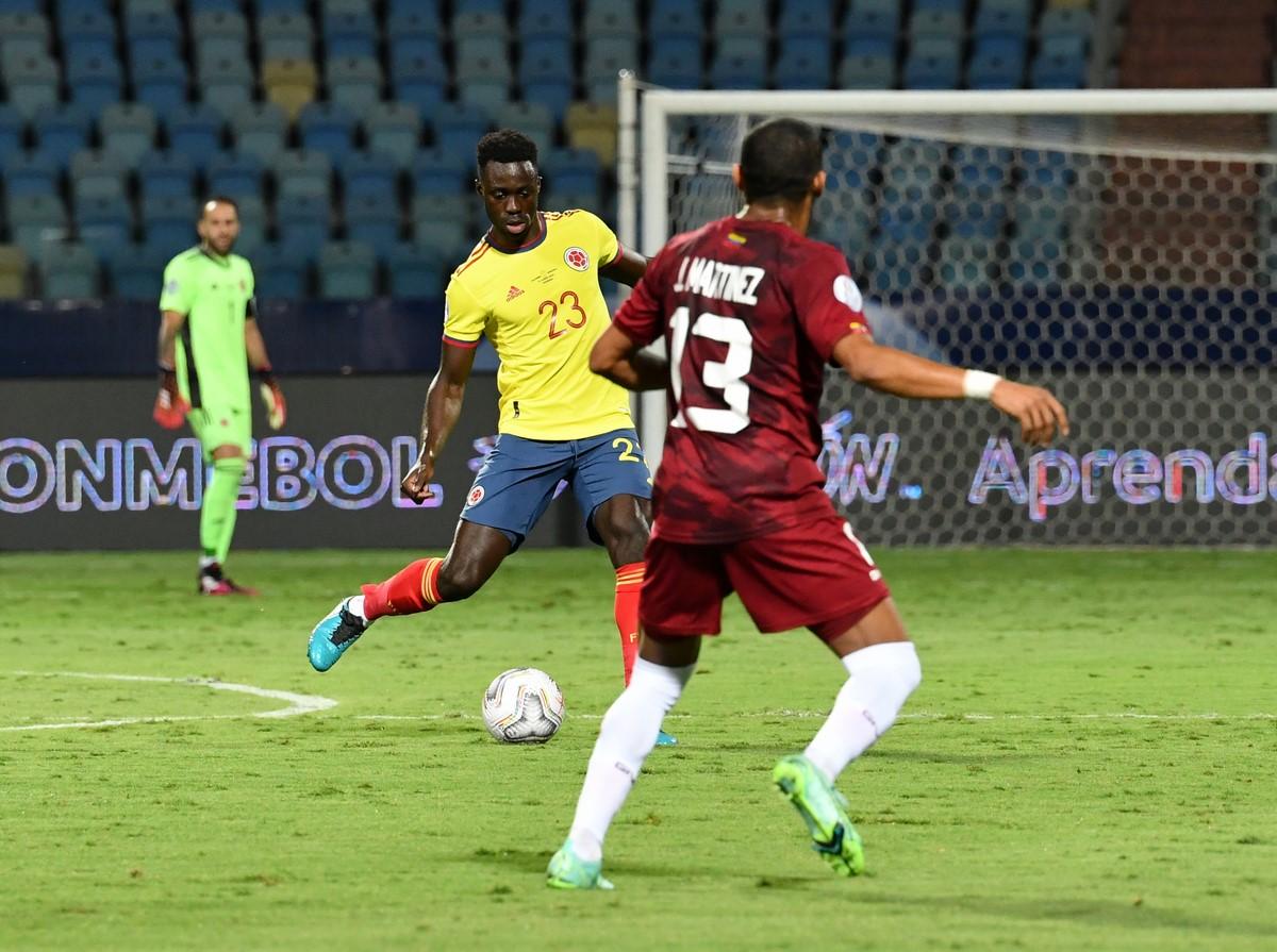 Seleccion Colombia vs Venezuela en la Copa America 7