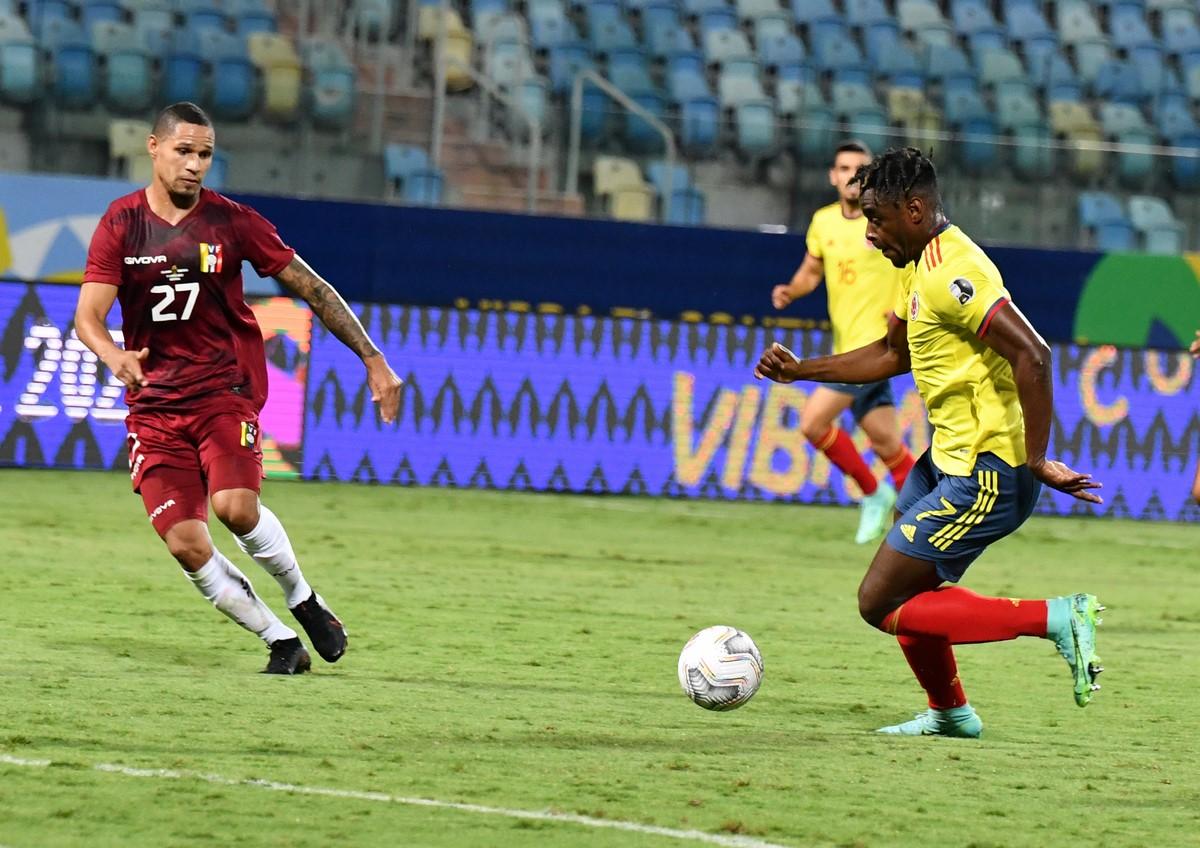Seleccion Colombia vs Venezuela en la Copa America 9
