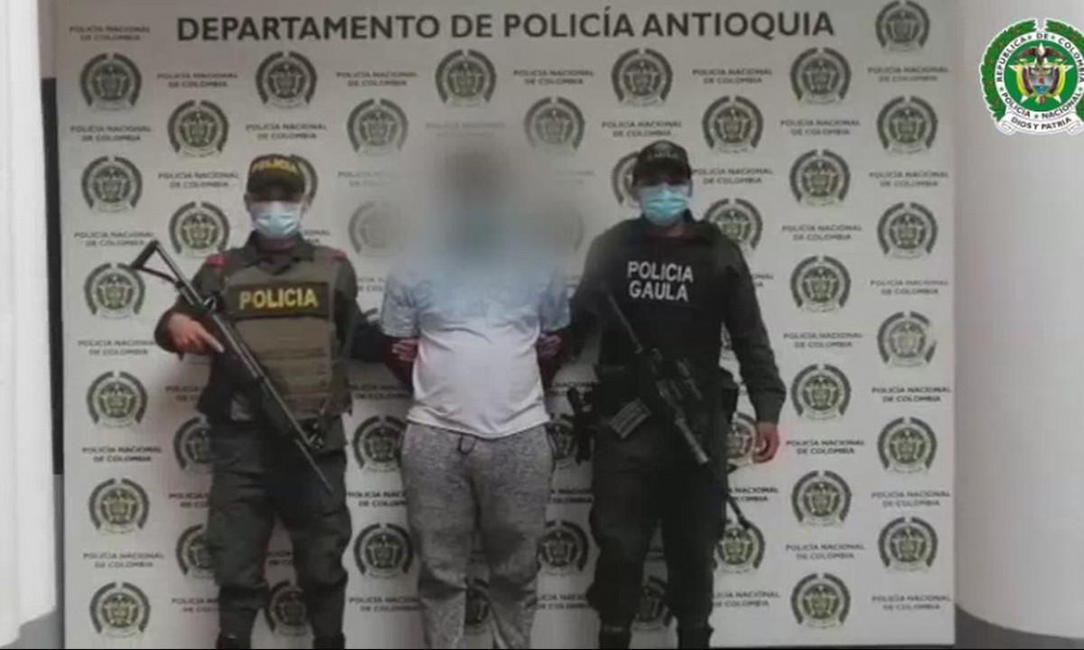 En Santa Fe de Antioquia cogieron a 'Turbina' presunto cabecilla del 'Clan del Golfo'