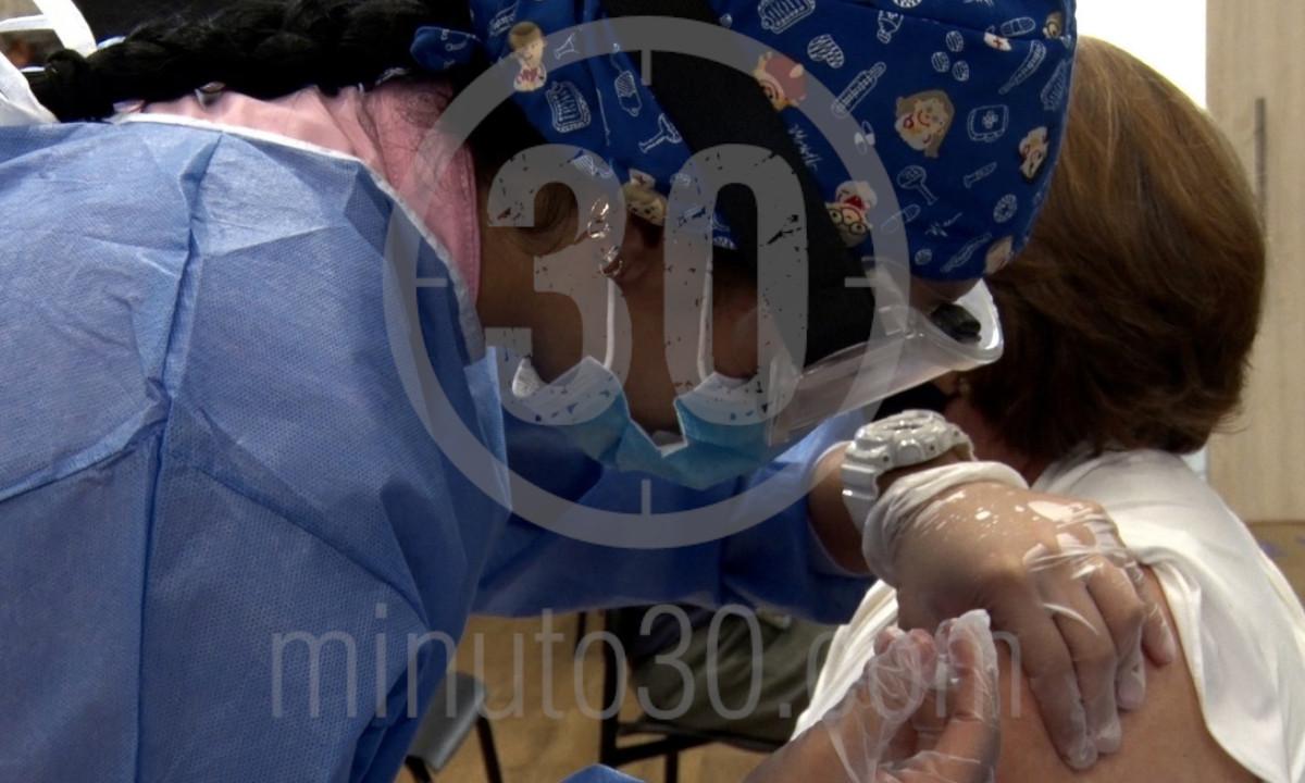 En Antioquia han aplicado 1.807.472 dosis de la vacuna contra el Covid