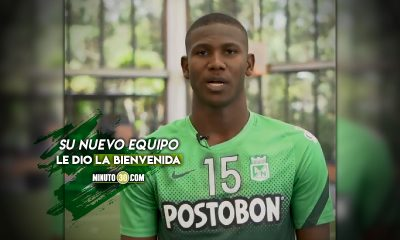 Yerson Mosquera se despidio de Atletico Nacional