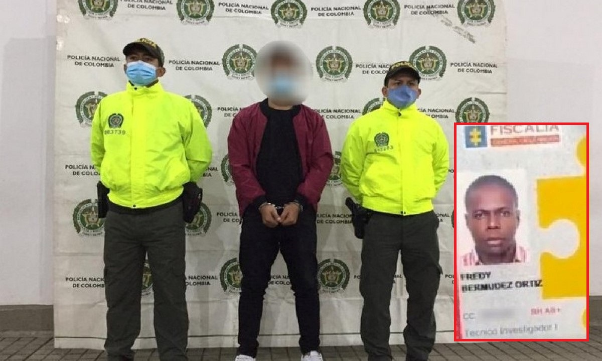 Captura presunto responsable de muerte de agente del CTI