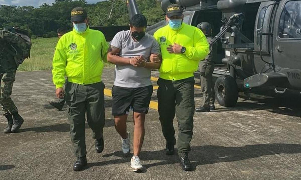 Cayó alias 'Yair' o 'Chamizo' en Chocó