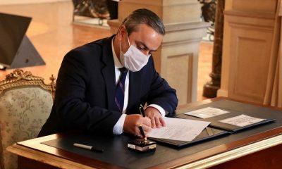 Juan Camilo Restrepo Gómez se posesiona como Alto Comisionado para la Paz