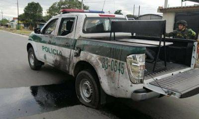 Patrulla fue atacada con explosivos y ráfagas de fusil