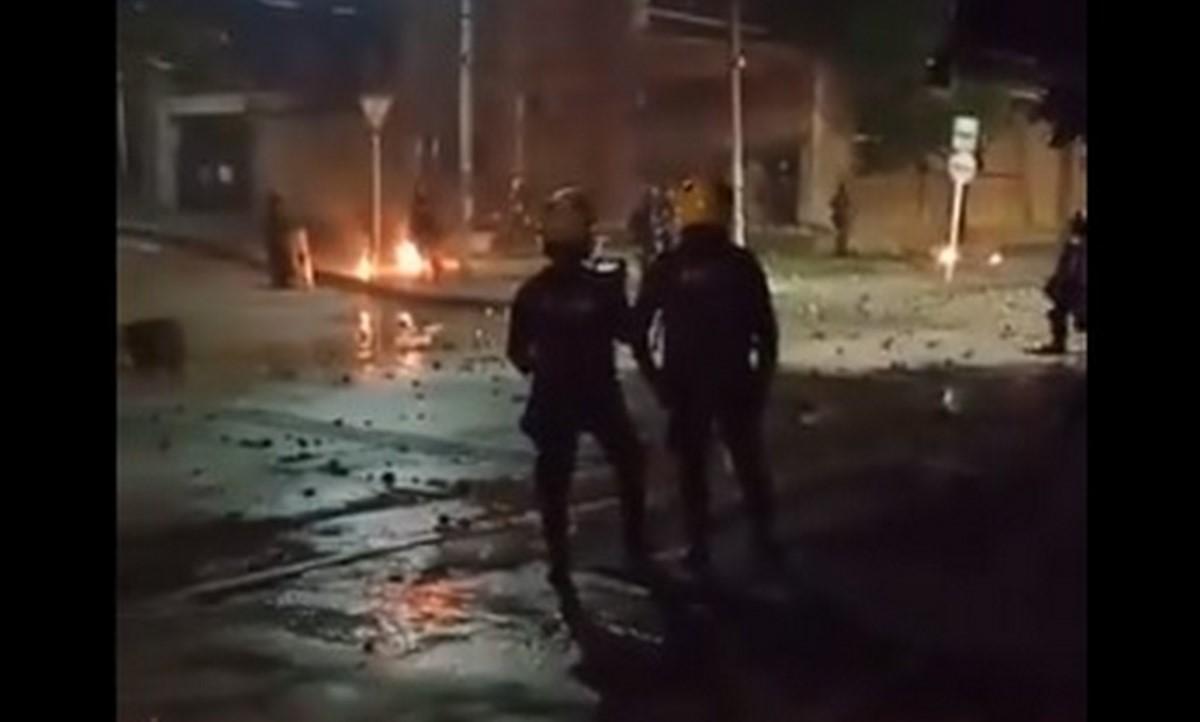 Joven herido en Barranquilla al explotarle una bomba molotov