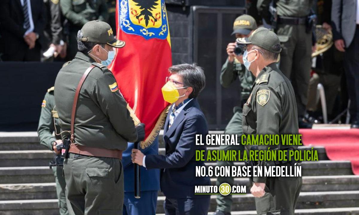 Jorge Camacho asumió la comandancia de Policía de Bogotá