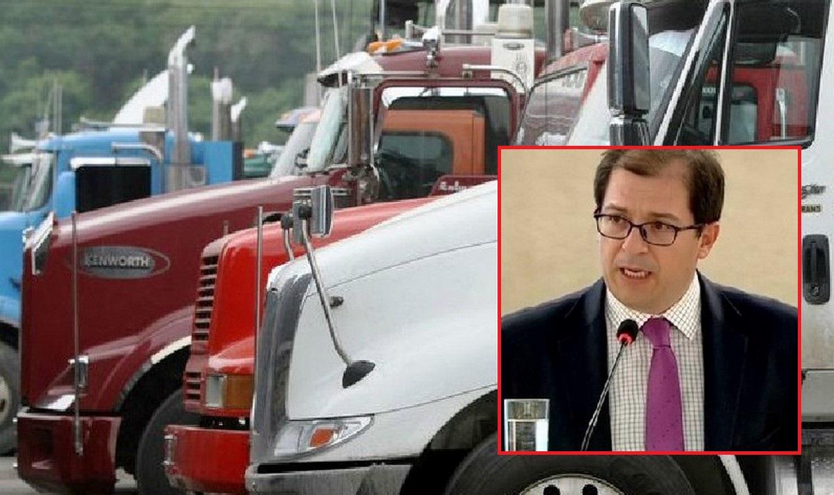 Tribunal le da la razón al fiscal Barbosa sobre incautación de camiones para bloqueos