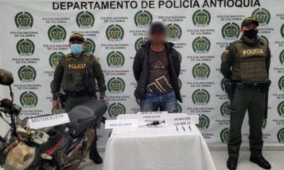 Capturado en Entrerríos con un arma de fuego y base de coca