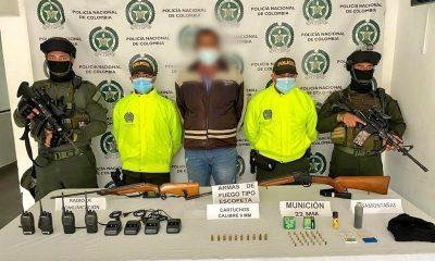 Capturaron a alias 'El Negro' en Andes