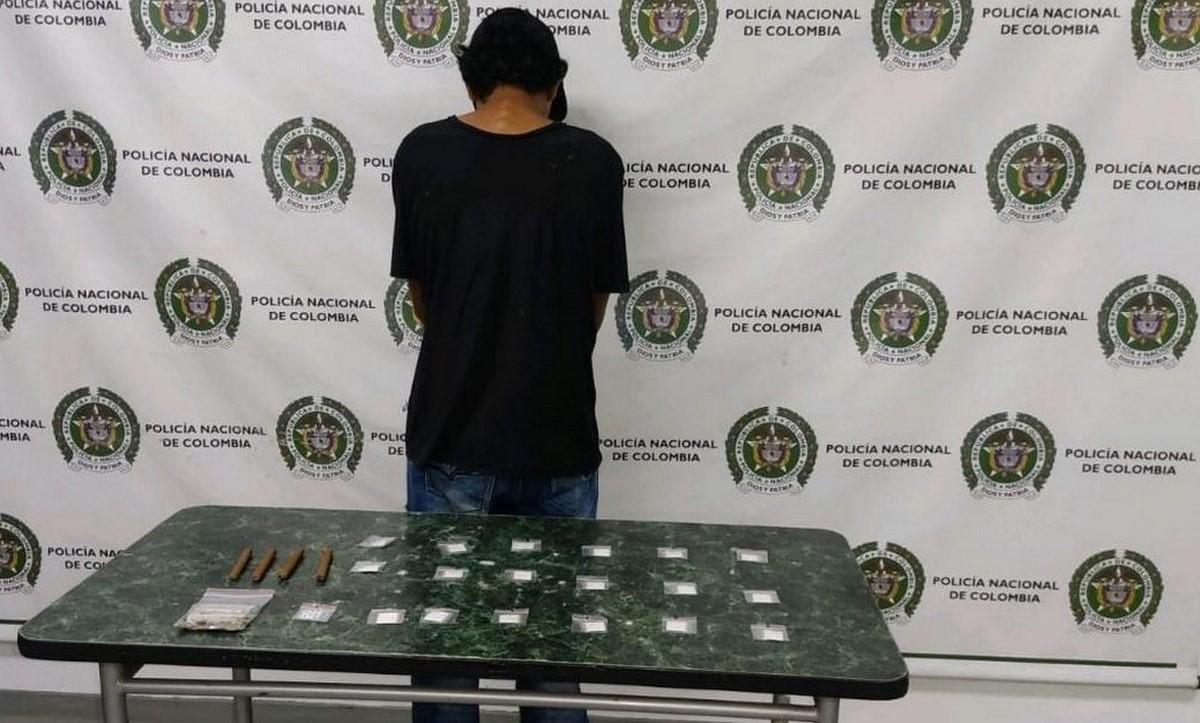 Menor aprehendido en Itagüí por estupefacientes