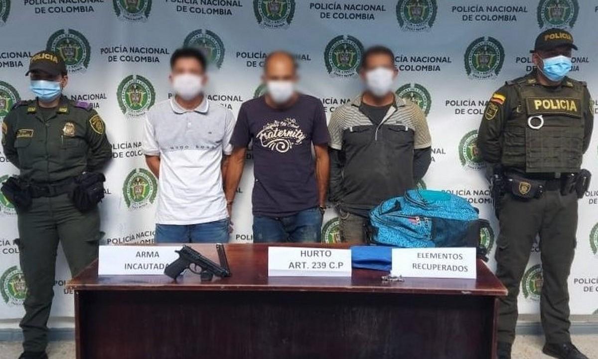 Capturados en Marinilla por hurto a finca