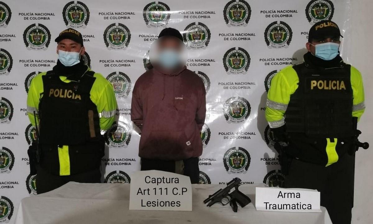 Capturado en Rionegro por lesiones personales