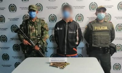 Capturado en Sabanalarga por llevar marihuana