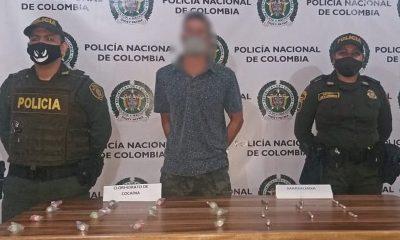 Cogieron en San Rafael a presunto expendedor de droga