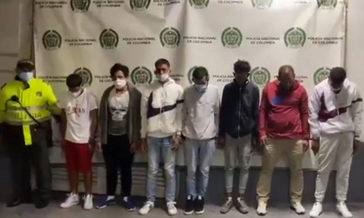 Cogieron a 7 extranjeros por secuestro y hurto en un SITP