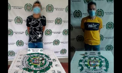 Capturados con droga en El Popular y Santo Domingo