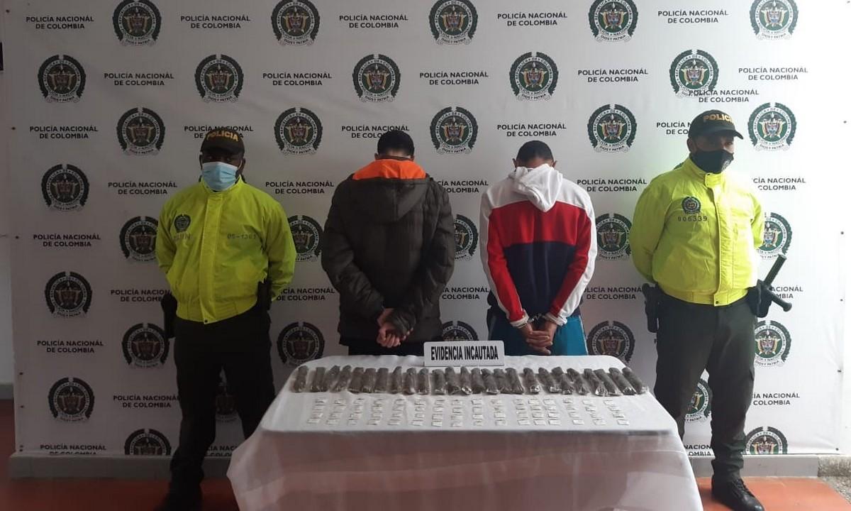 Capturaron a presuntos expendedores de doga en Urrao