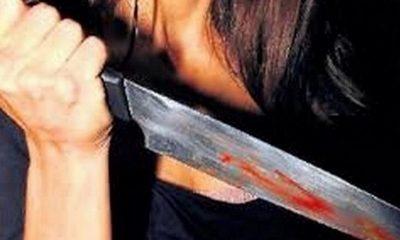 cuchillo mujer