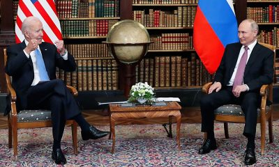 Joe Biden y Vladímir Putin