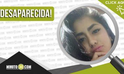 Salomé Vásquez Ospina desapareció en Girardota