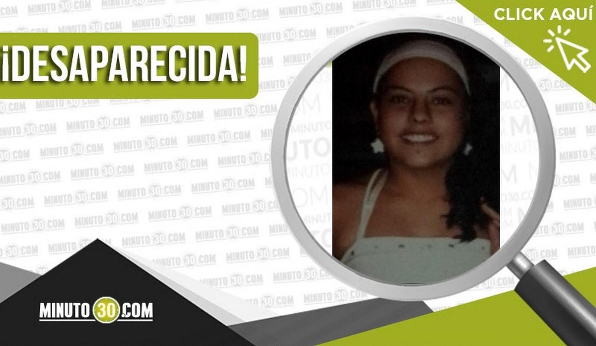 Leidy Yuliana Zapata López desapareció en Medellín