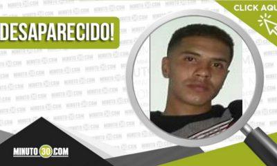 Luis Eduardo Velásquez Toro desaparecido