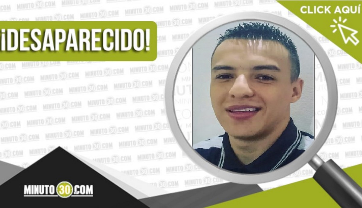 Juan David Buriticá Camacho desaparecido