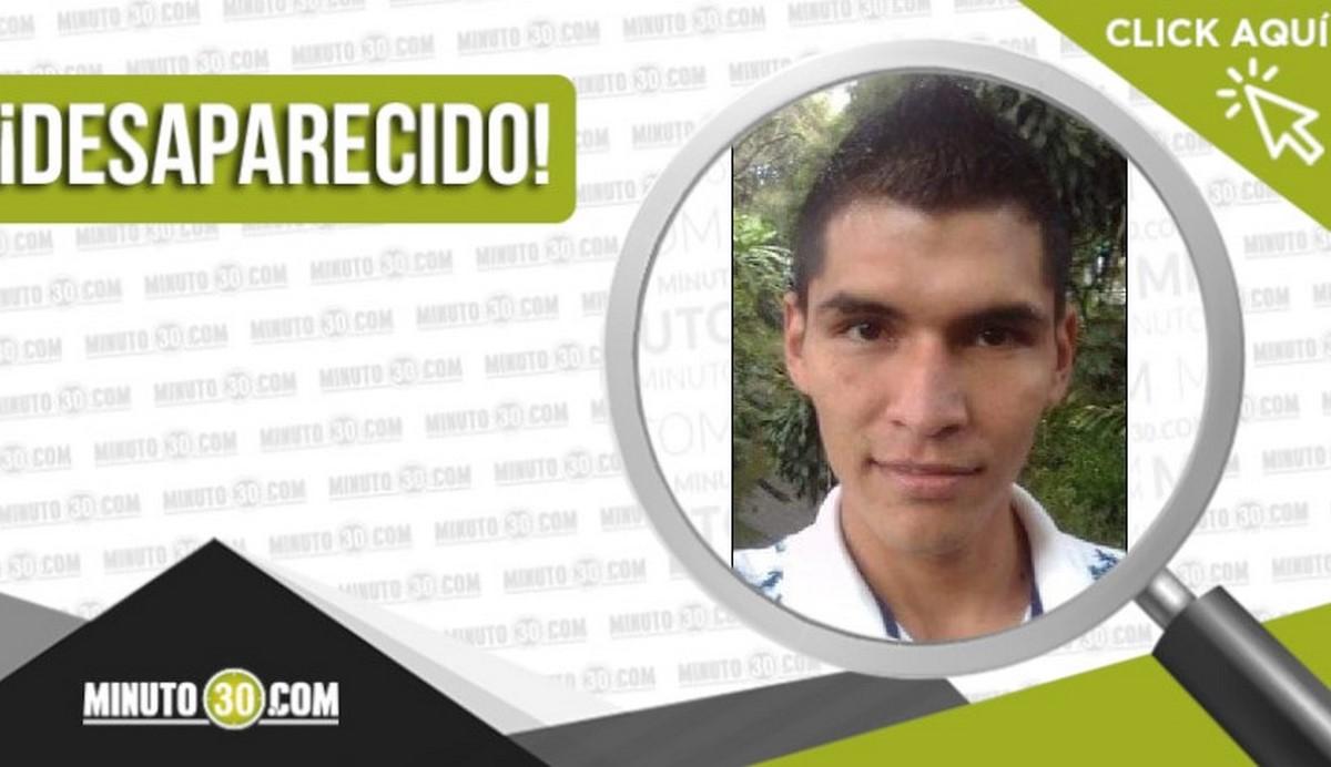 William Enrique Piso Achipiz desaparecido