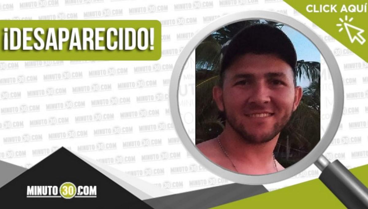 Luis Alejandro Serna Castaño desaparecido