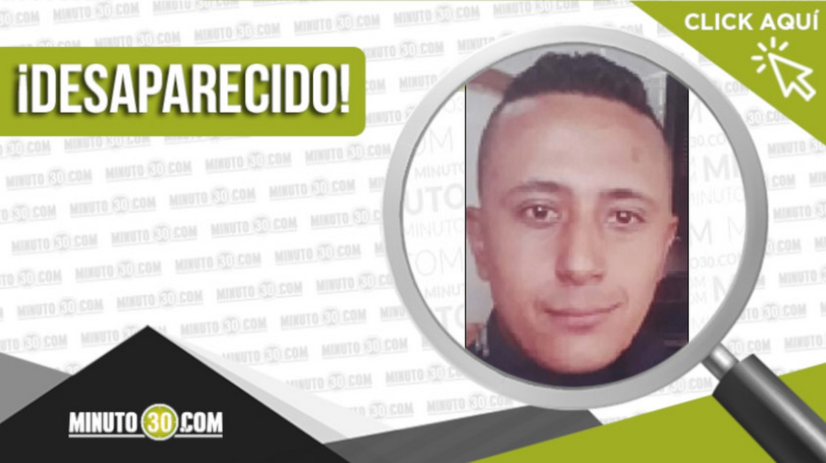 Jhorma Arbey Murillo Madrid desaparecido