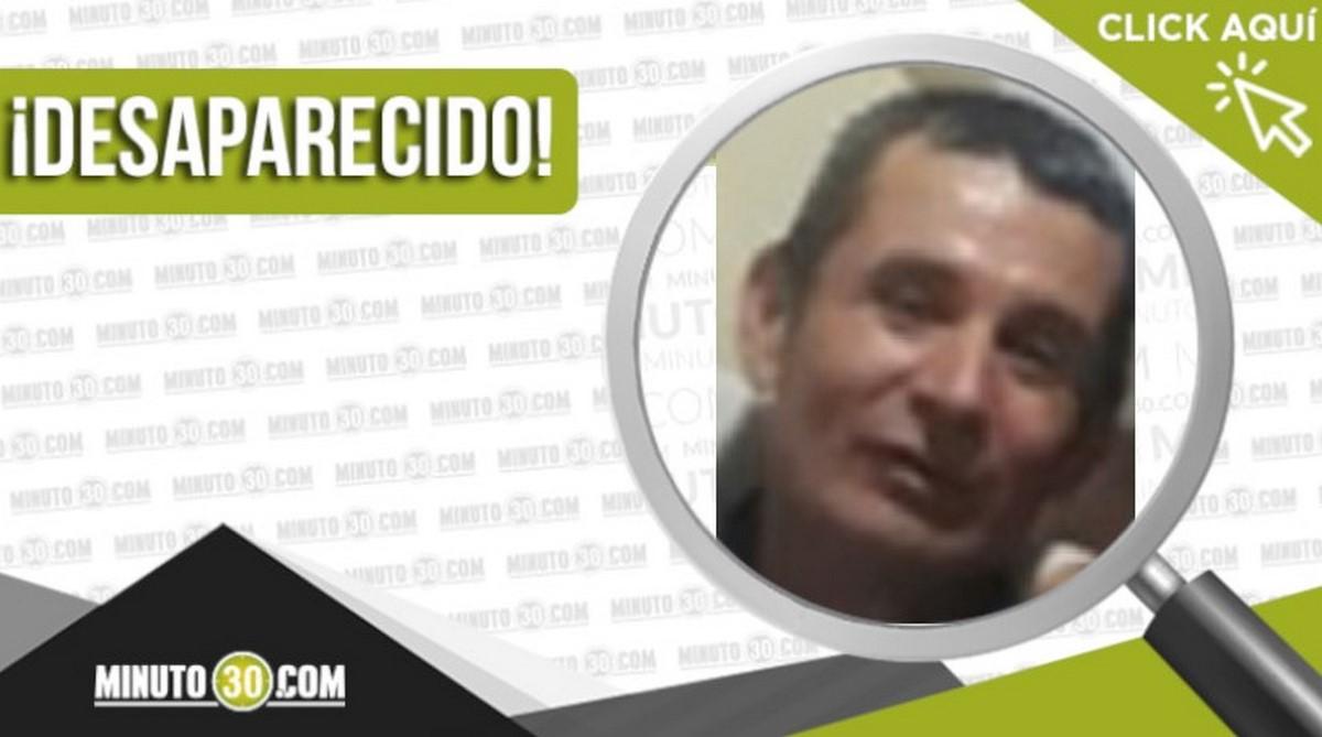 Osías Rivera Borja desapareció en Medellín