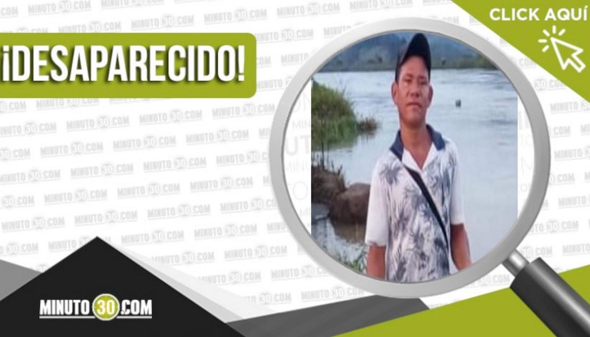 Wilson Manuel Vega Navarro desaparecido