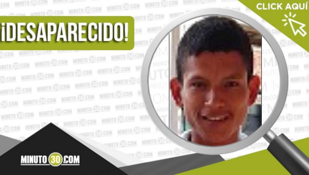 Jeison Alfonso Gómez Higuita desaparecido