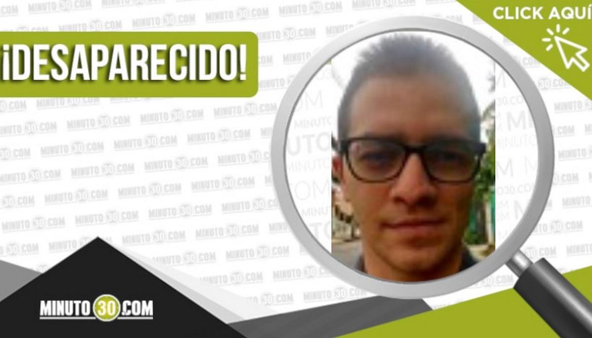 Víctor Hugo Ocampo Tamayo desaparecido
